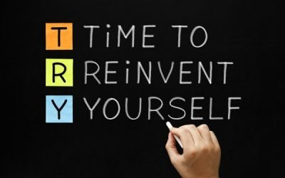 You Can Reinvent Yourself Now